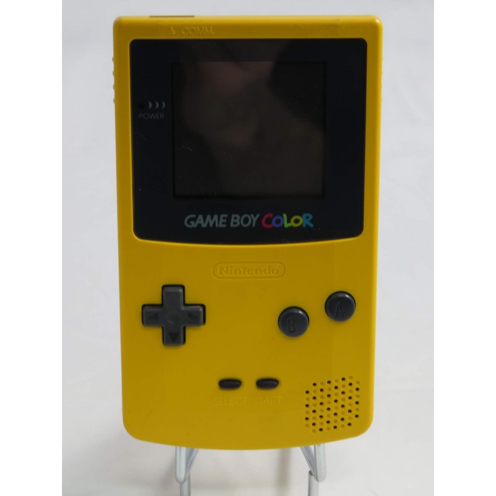 CONSOLE GAMEBOY COLOR JAUNE JPN OCCASION
