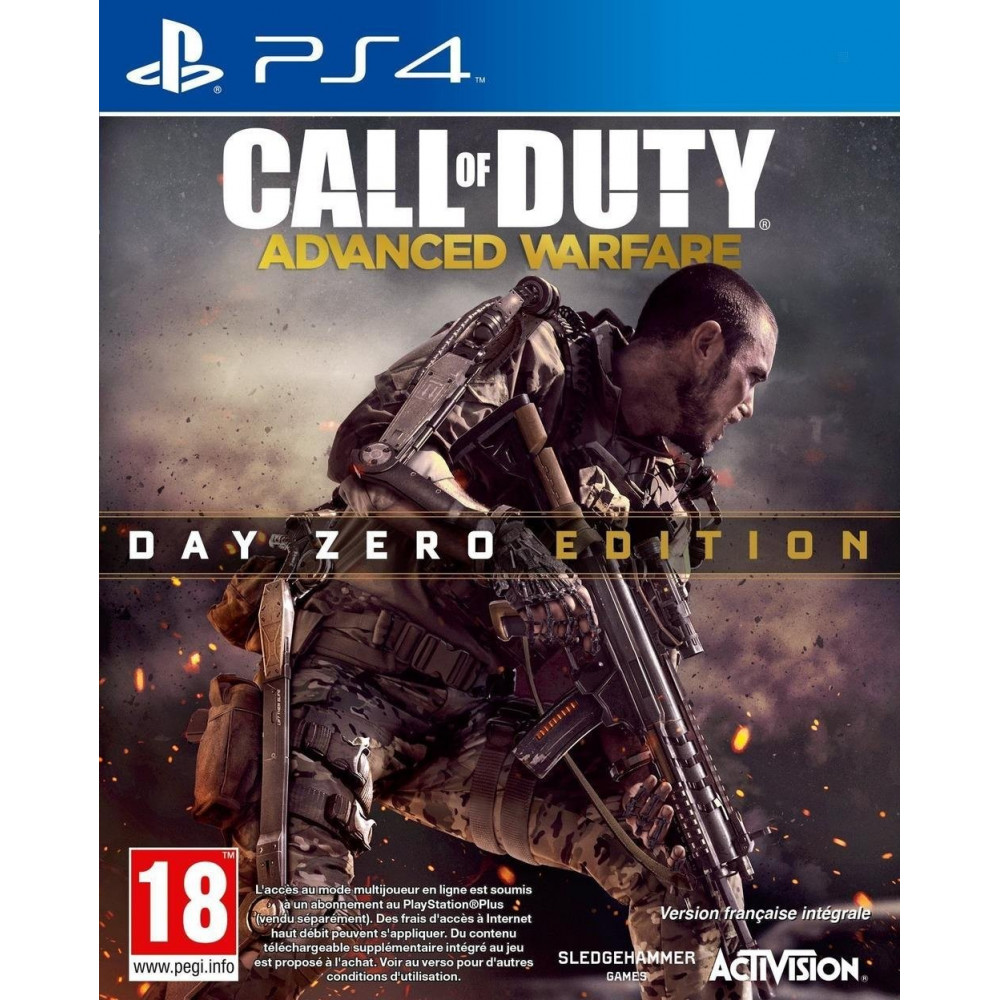 CALL OF DUTY ADVANCED WARFARE EDITION DAY ONE PS4 FR OCCASION