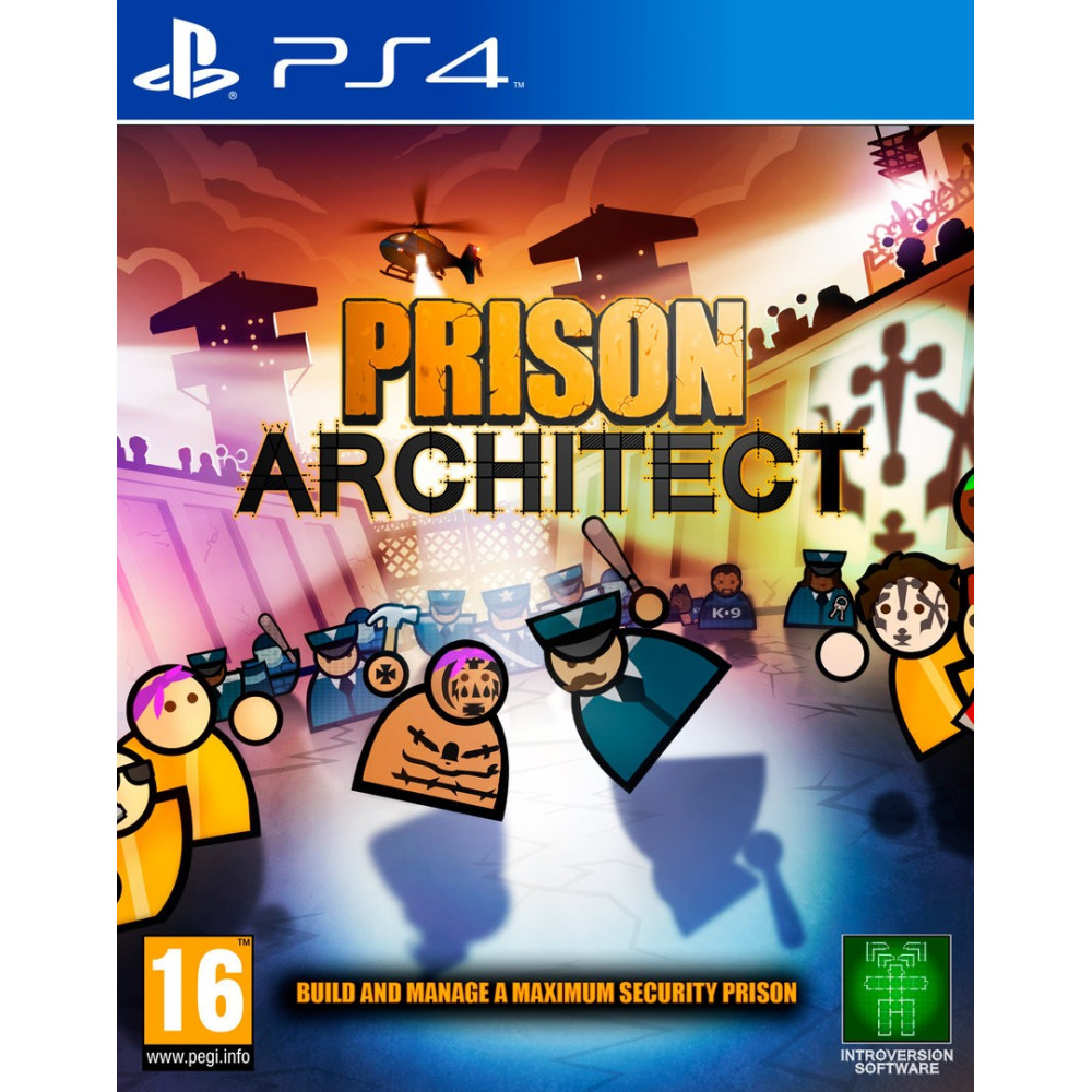 PRISON ARCHITECT PS4 VF