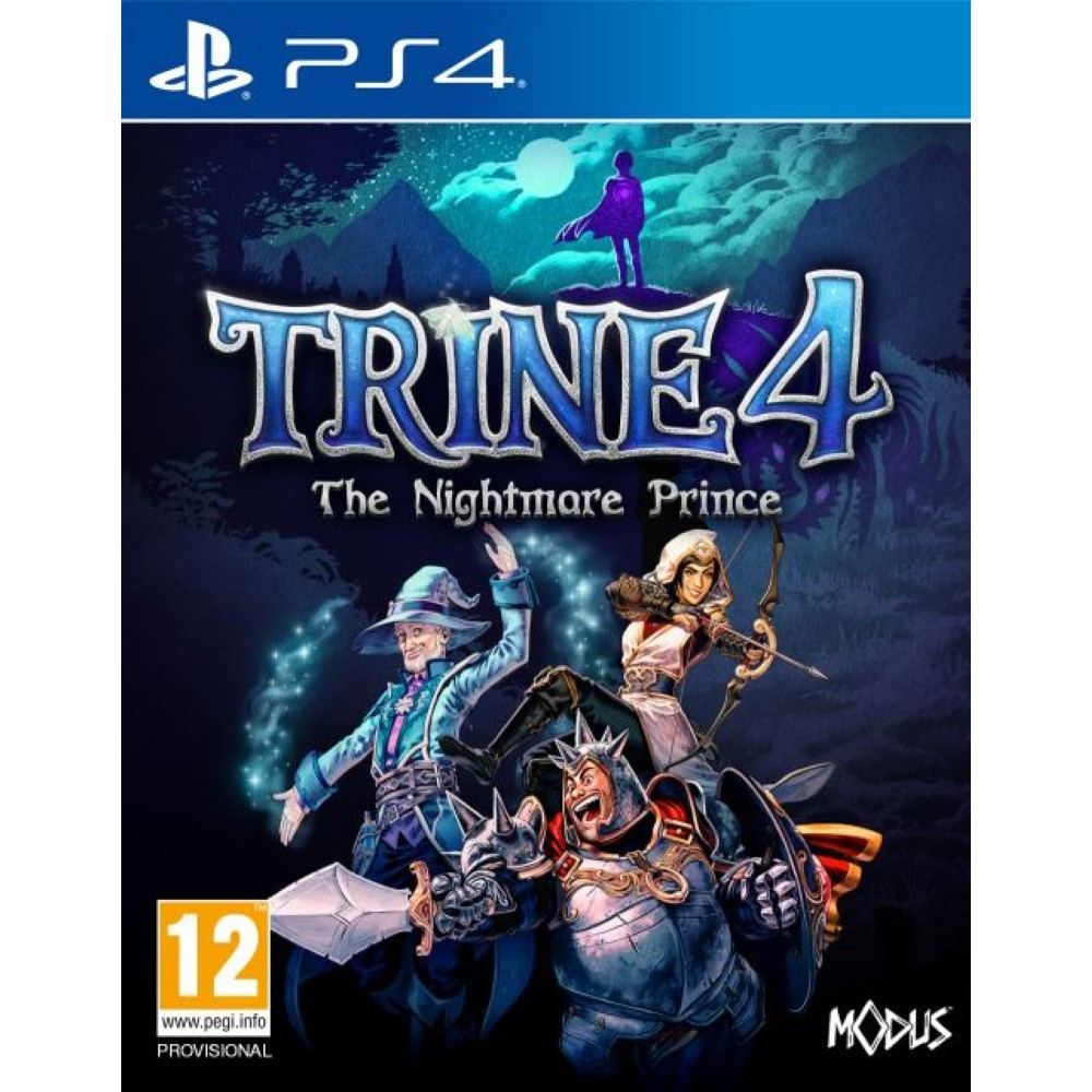TRINE 4 THE NIGHTMARE PRINCE PS4 FR NEW