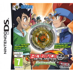 BEYBLADE METAL MASTERS NIGHTMARE REX NDS EURO OCCASION (SANS TOUPIS)