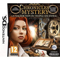 CHRONICLES OF MYSTERY LA MALEDICTION DE L ANCIEN TEMPLE NDS FR OCCASION