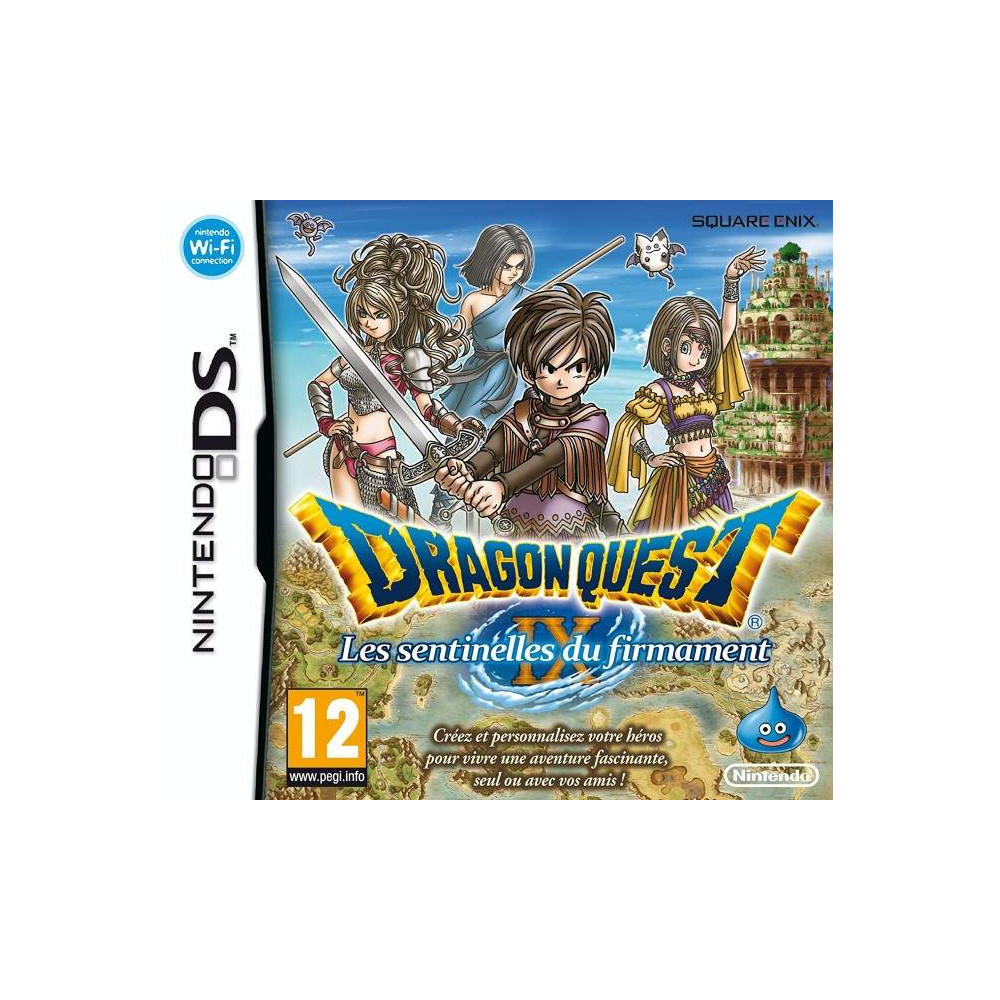 DRAGON QUEST IX NDS FRA OCCASION