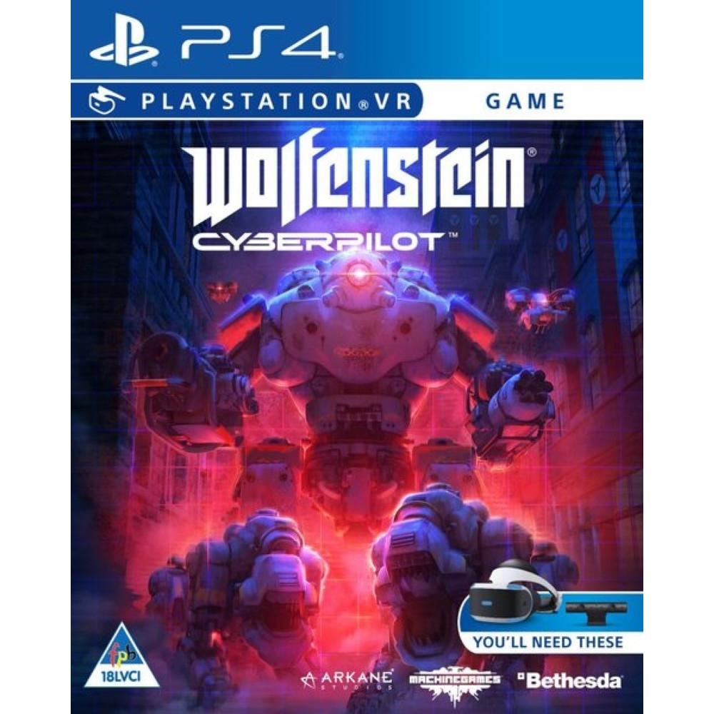 WOLFENSTEIN CYBERPILOT VR PS4 UK NEW