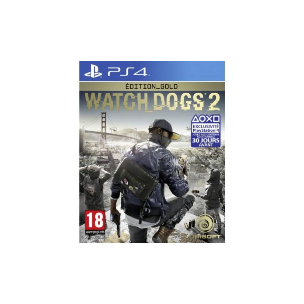 WATCH DOGS 2 GOLD EDITION PS4 EURO NEW