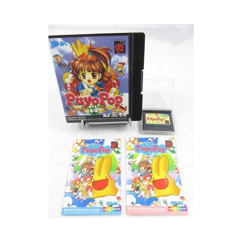 PUYO POP NEO GEO POCKET UK OCCASION
