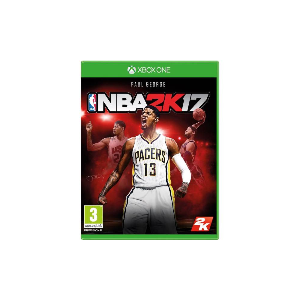 NBA 2K17 XBOX ONE FR NEW