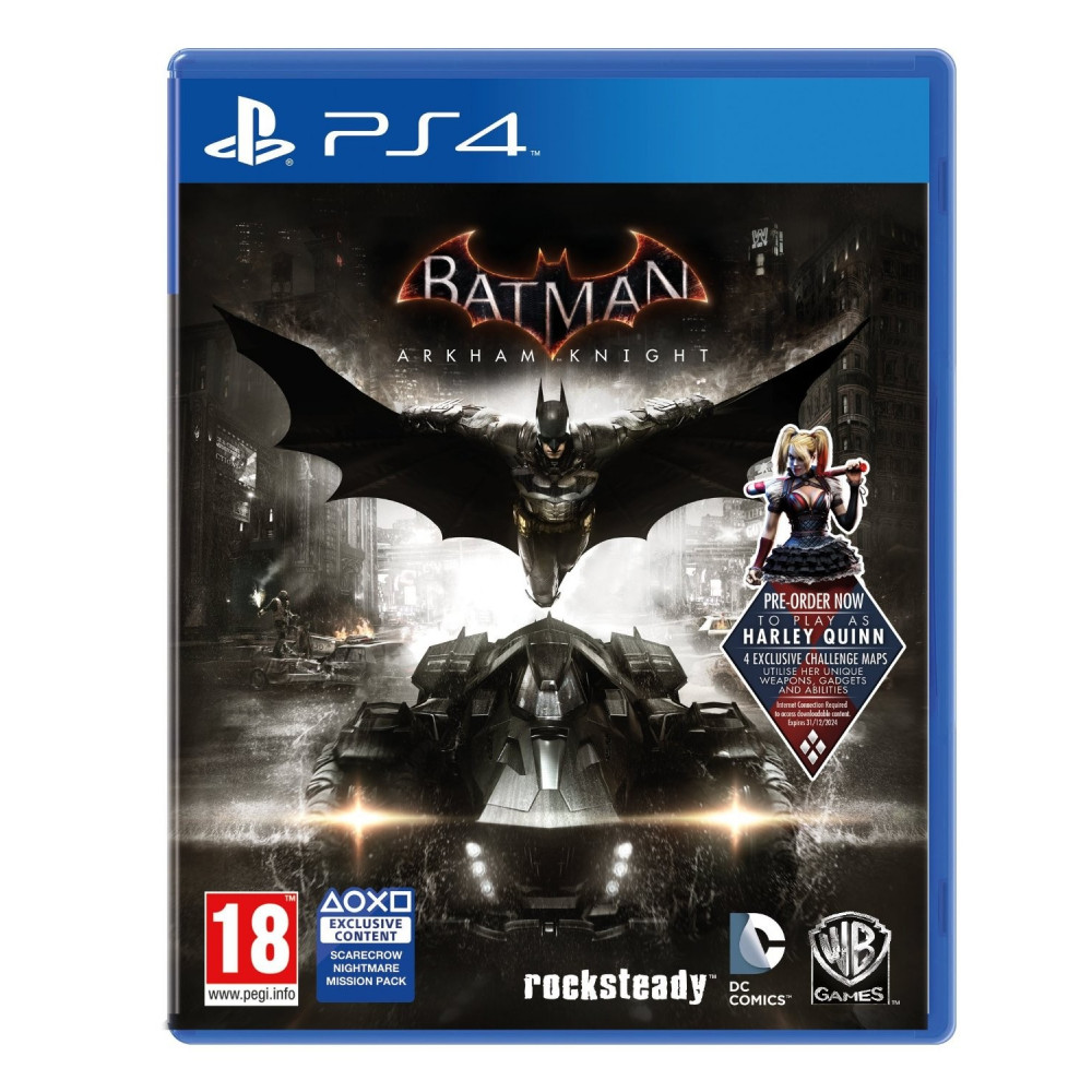 BATMAN ARKHAM KNIGHT PS4 UK OCCASION