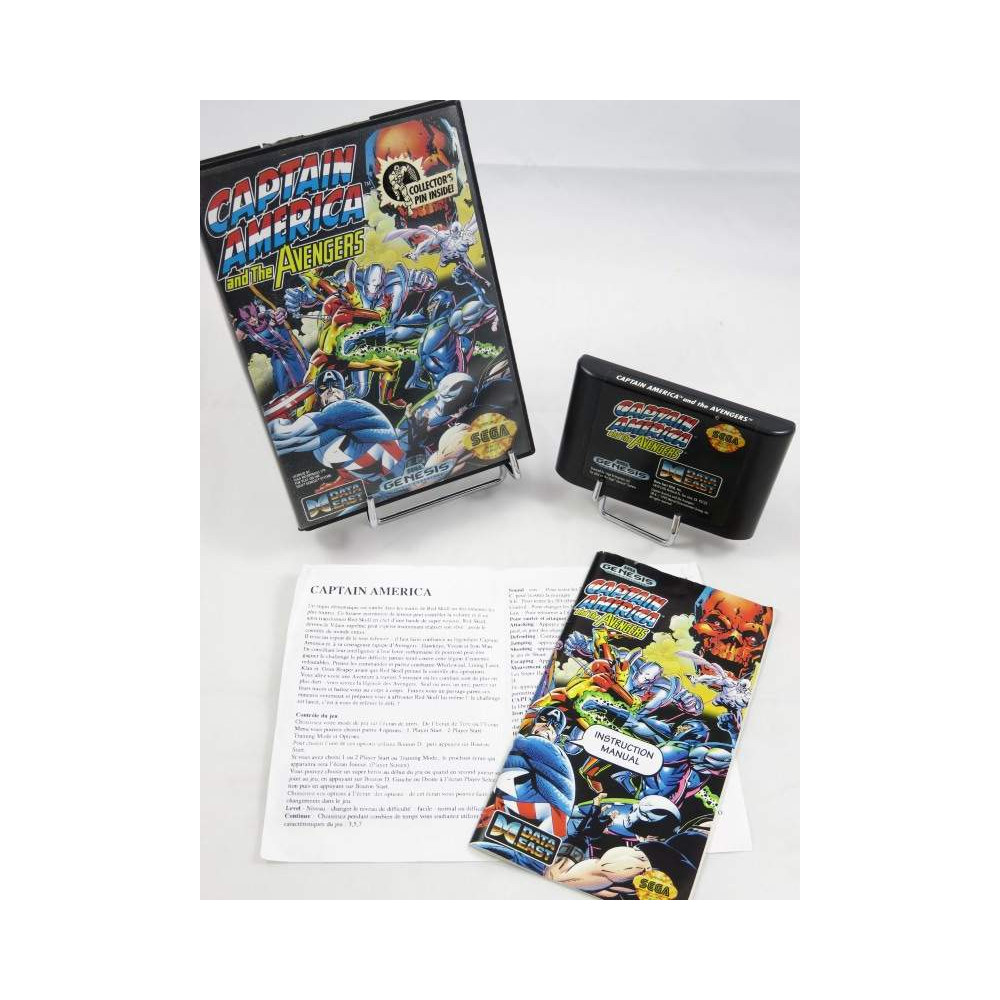 CAPTAIN AMERICA AND THE AVENGERS GENESIS NTSC-USA (IMPORT FR) OCCASIONS