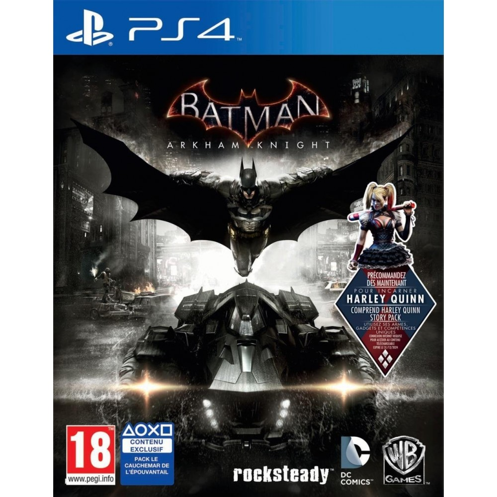 BATMAN ARKHAM KNIGHT PS4 FR OCCASION