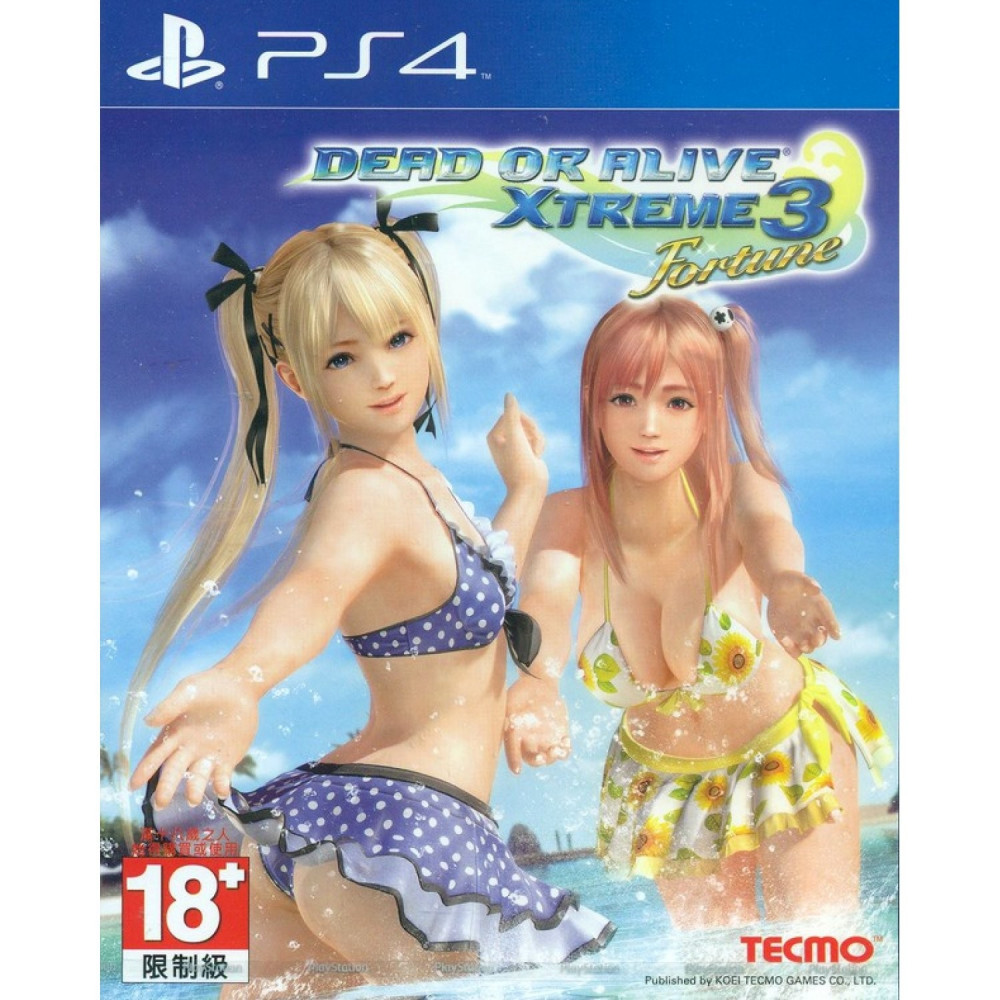 DEAD OR ALIVE XTREME 3 FORTUNE(JEU EN ANGLAIS) PS4 ASIAN OCCASION
