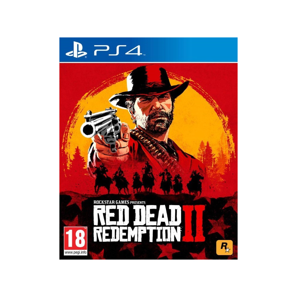 RED DEAD REDEMPTION 2 PS4 FR NEW