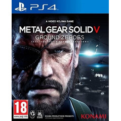 METAL GEAR SOLID GROUND ZEROES PS4 FR OCCASION
