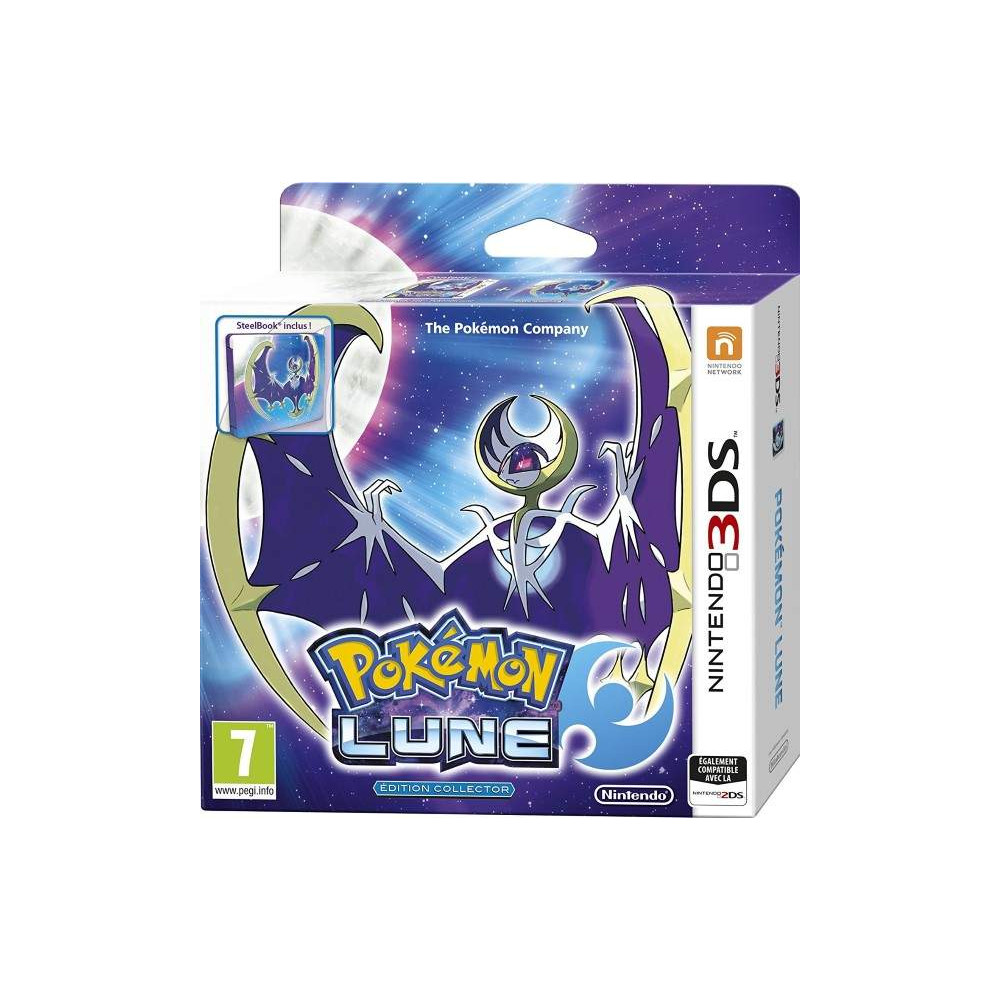 POKEMON LUNE EDITION COLLECTOR 3DS FRANCAIS NEW