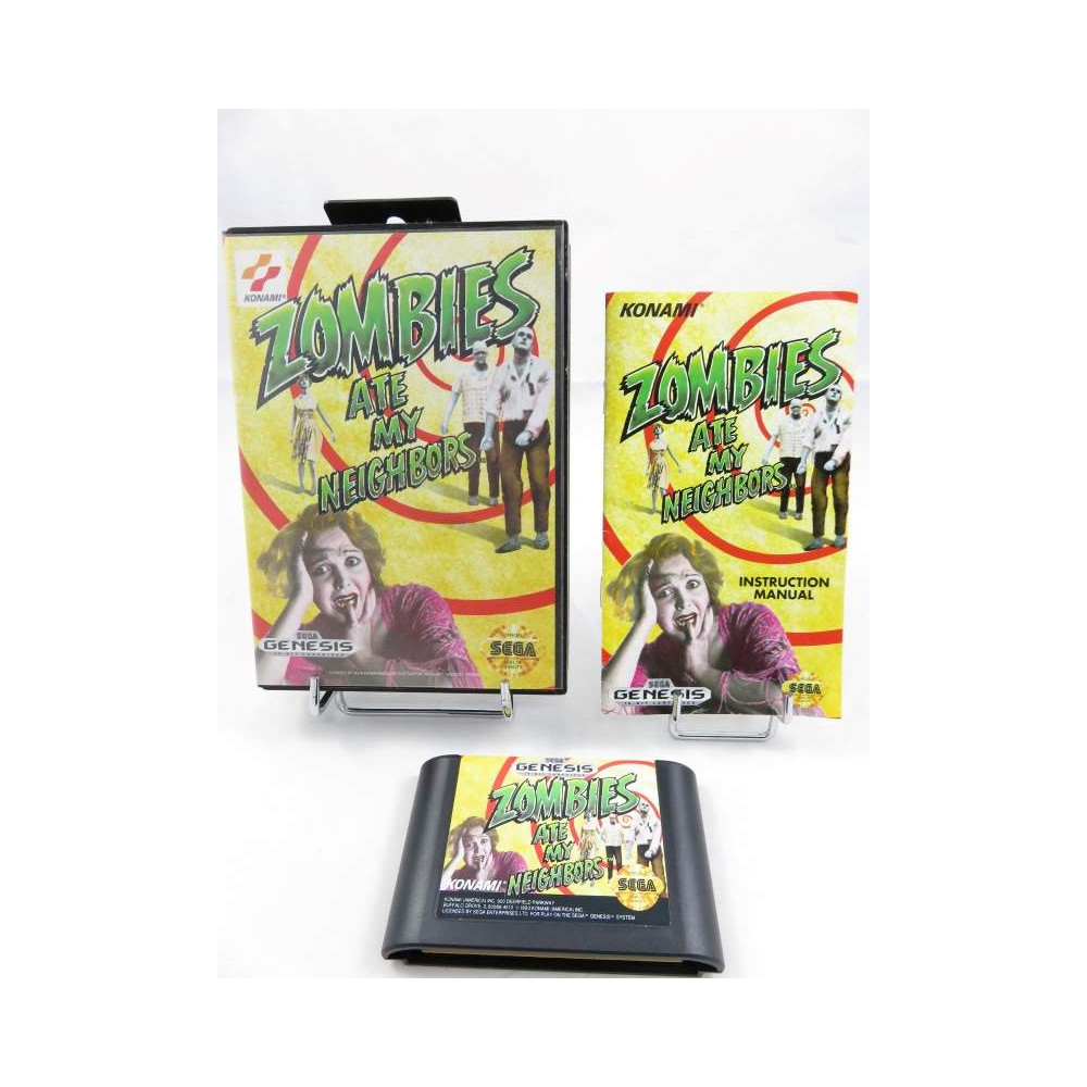 ZOMBIES ATE MY NEIGHBOURS GENESIS NTSC-USA OCCASION