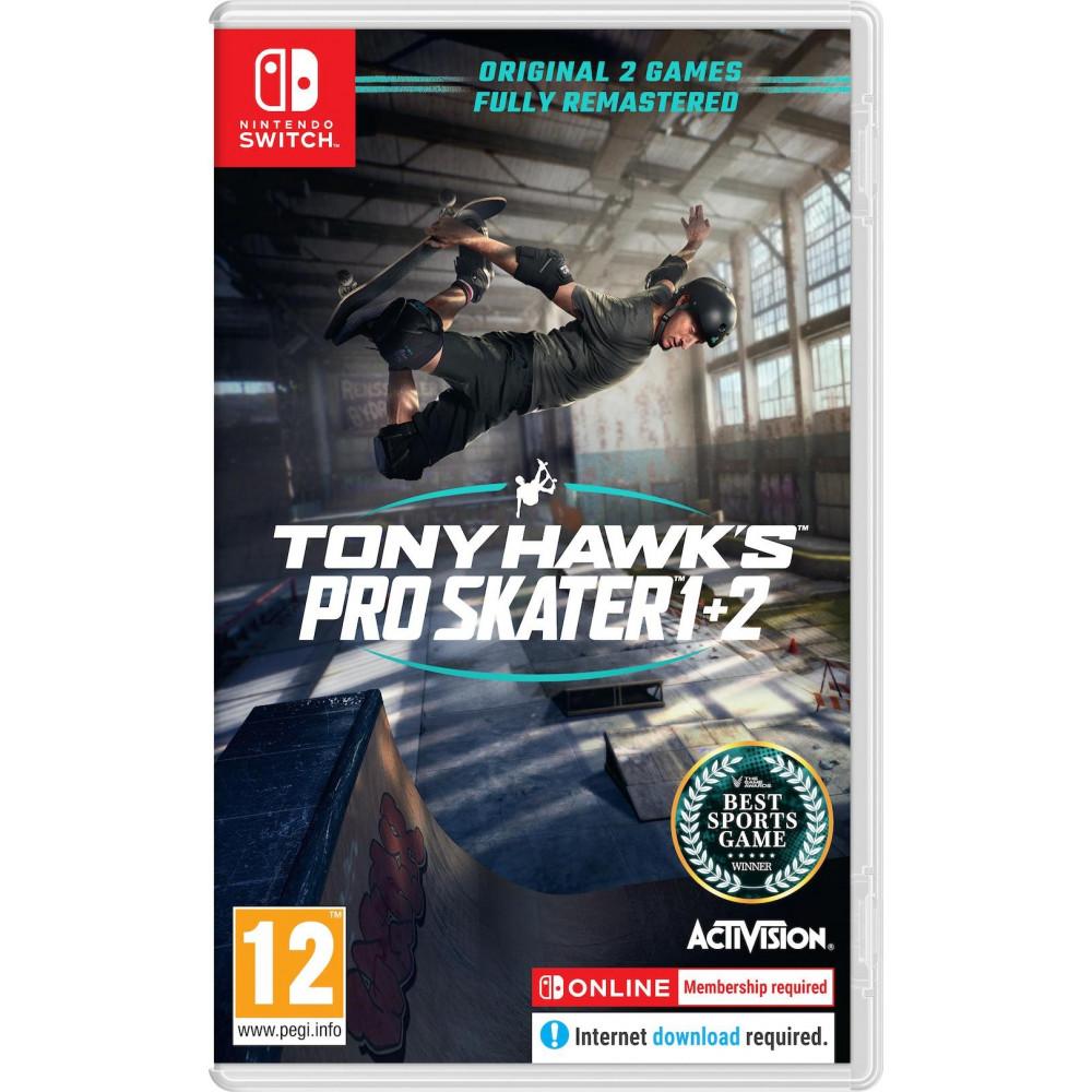 TONY HAWK S PRO SKATER 1+2 SWITCH UK NEW