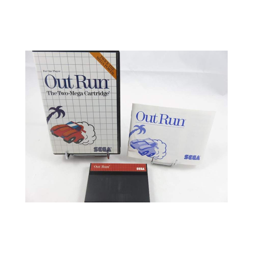 OUT RUN MASTER SYSTEM PAL-EURO OCCASION