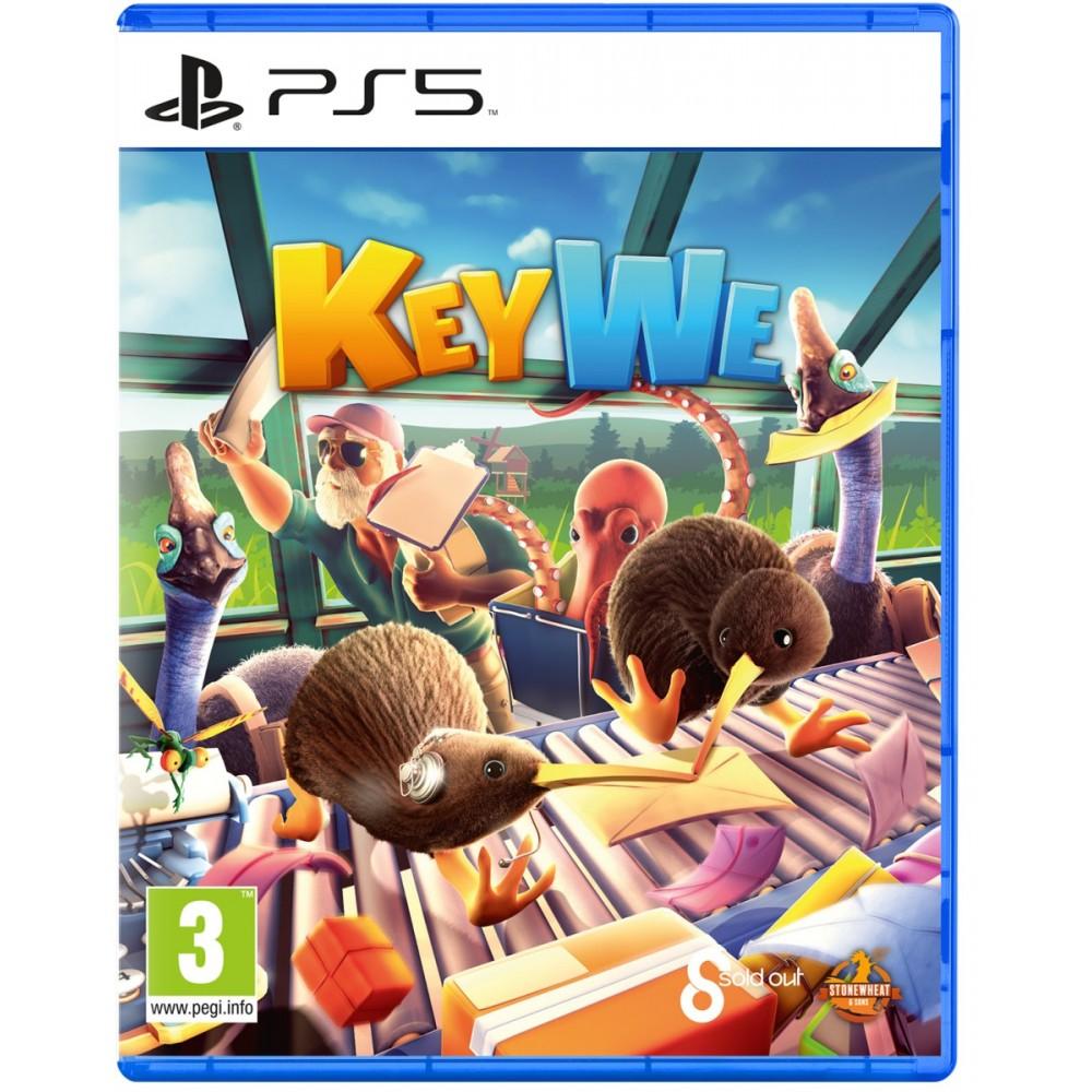 KeyWe PS5 EURO - Précommande