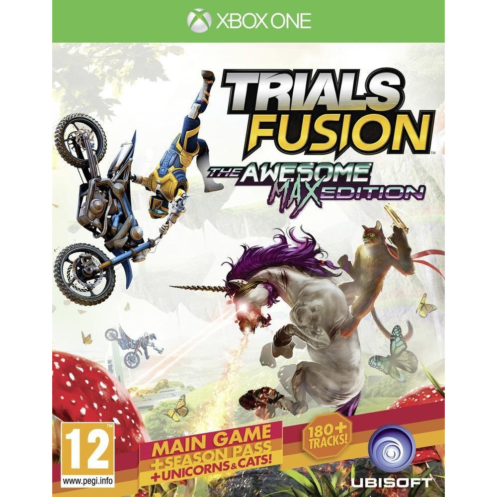 TRIALS FUSION THE AWESOME MAX EDITION XBOX ONE FR OCCASION