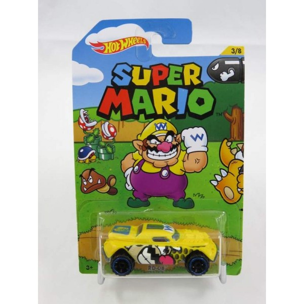 HOT WHEELS SUPER MARIO RD-08 NEW