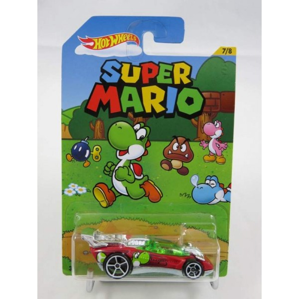 HOT WHEELS SUPER MARIO FLATHEAD FURY NEW