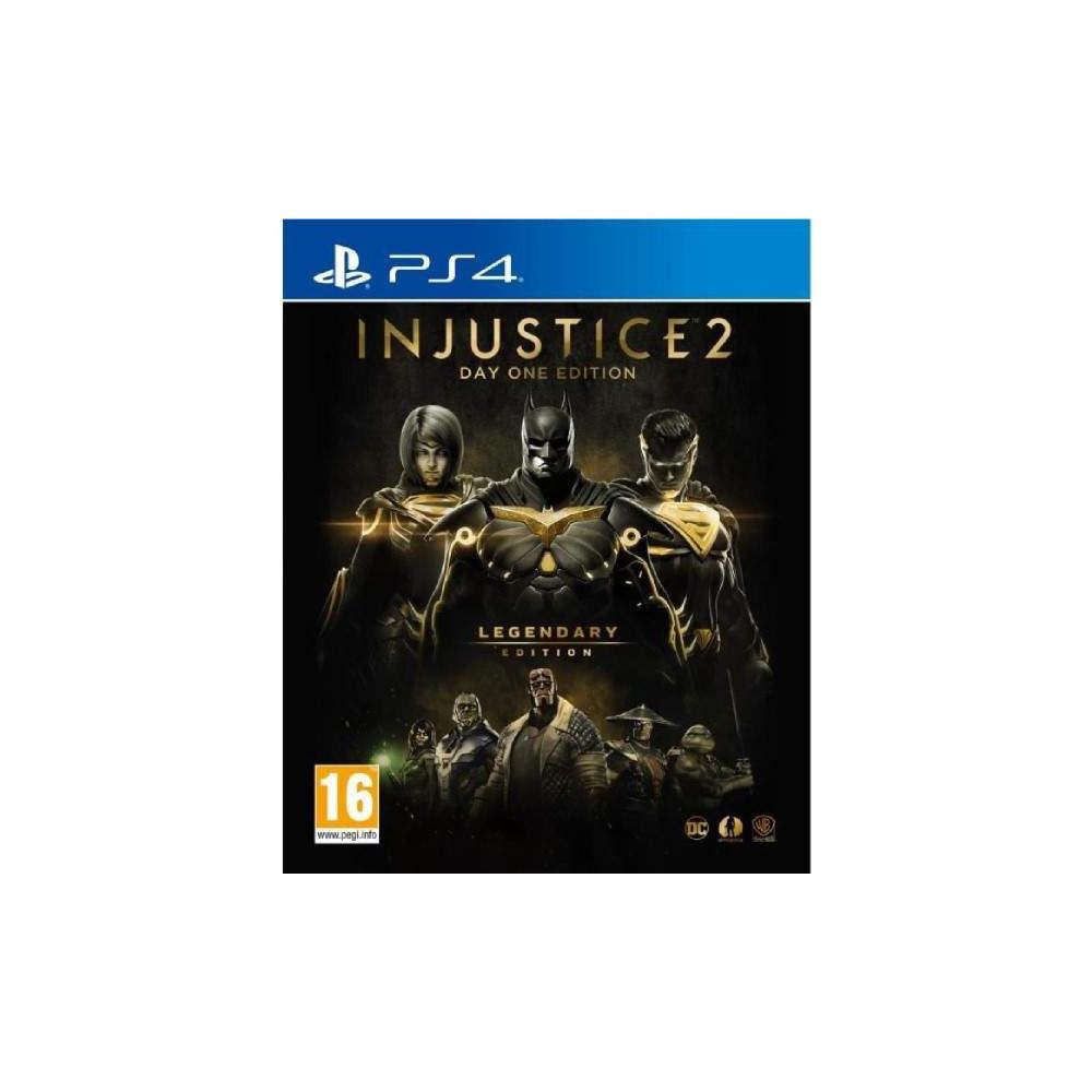 INJUSTICE 2 GOTY LEGENDARY PS4