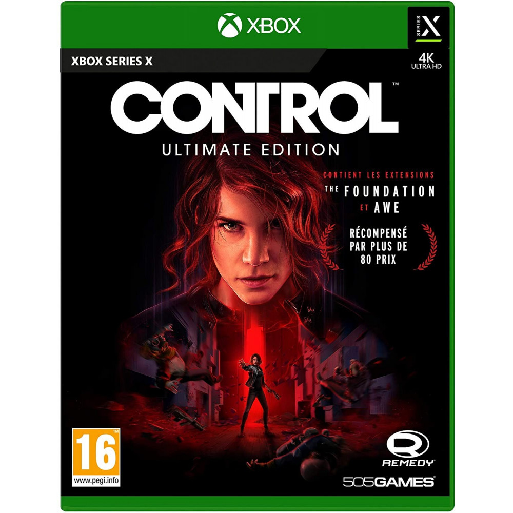 CONTROL ULTIMATE EDITION XBOX ONE SERIES X R NEW