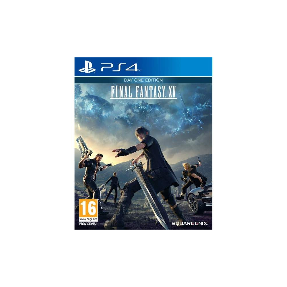 FINAL FANTASY XV DAY ONE EDITION PS4 ANGLAIS NEW