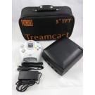 CONSOLE TREAMCAST BLACK 5 TFT (AVEC SAC DE TRANSPORT) NTSC-USA (NEAR MINT)
