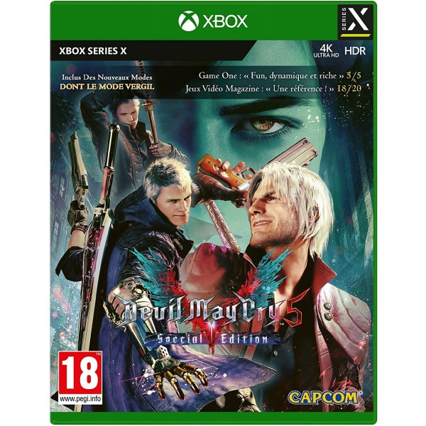DEVIL MAY CRY 5 SPECIAL EDITION XBOX SERIES X FR NEW