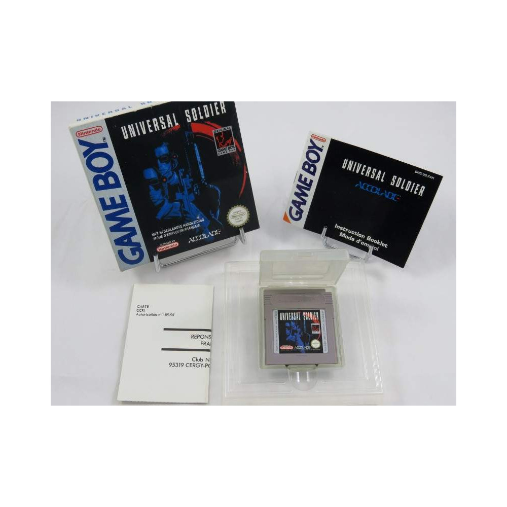 UNIVERSAL SOLDIER GAMEBOY FAH OCCASION