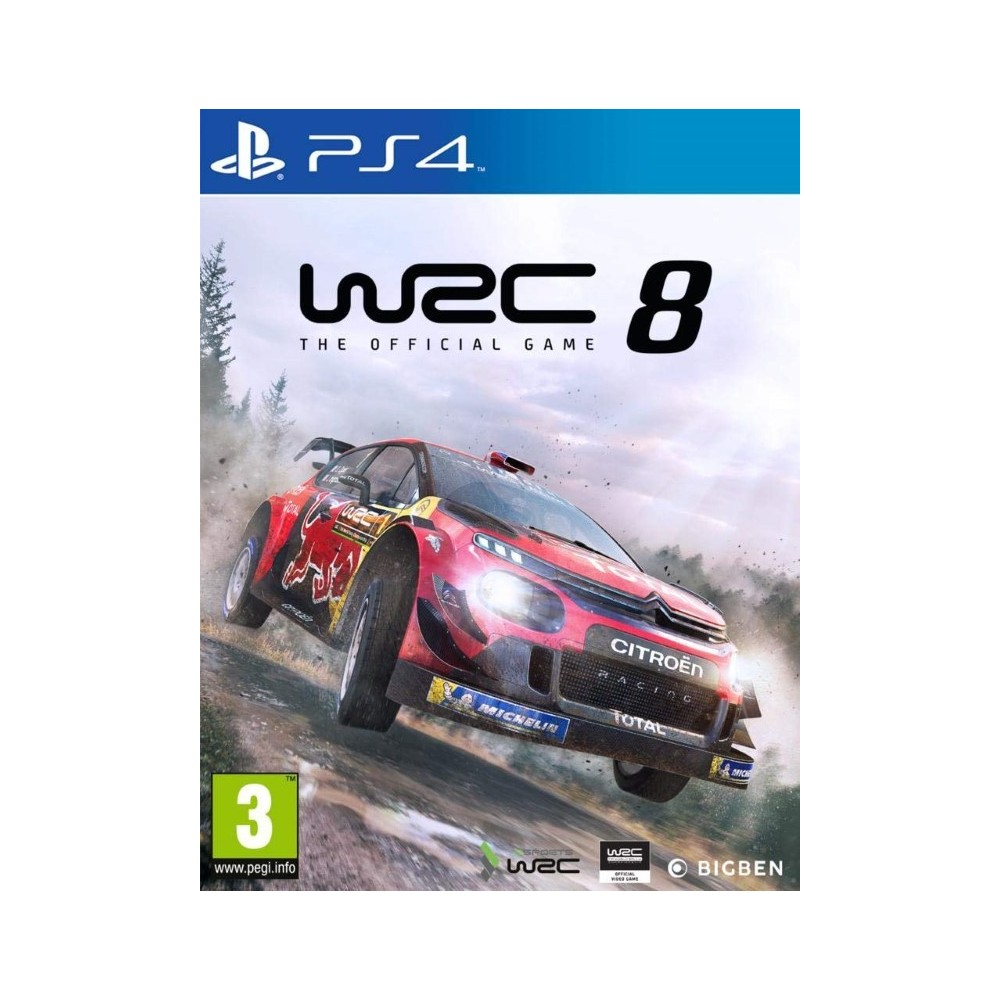 WRC 8 PS4 UK OCCASION