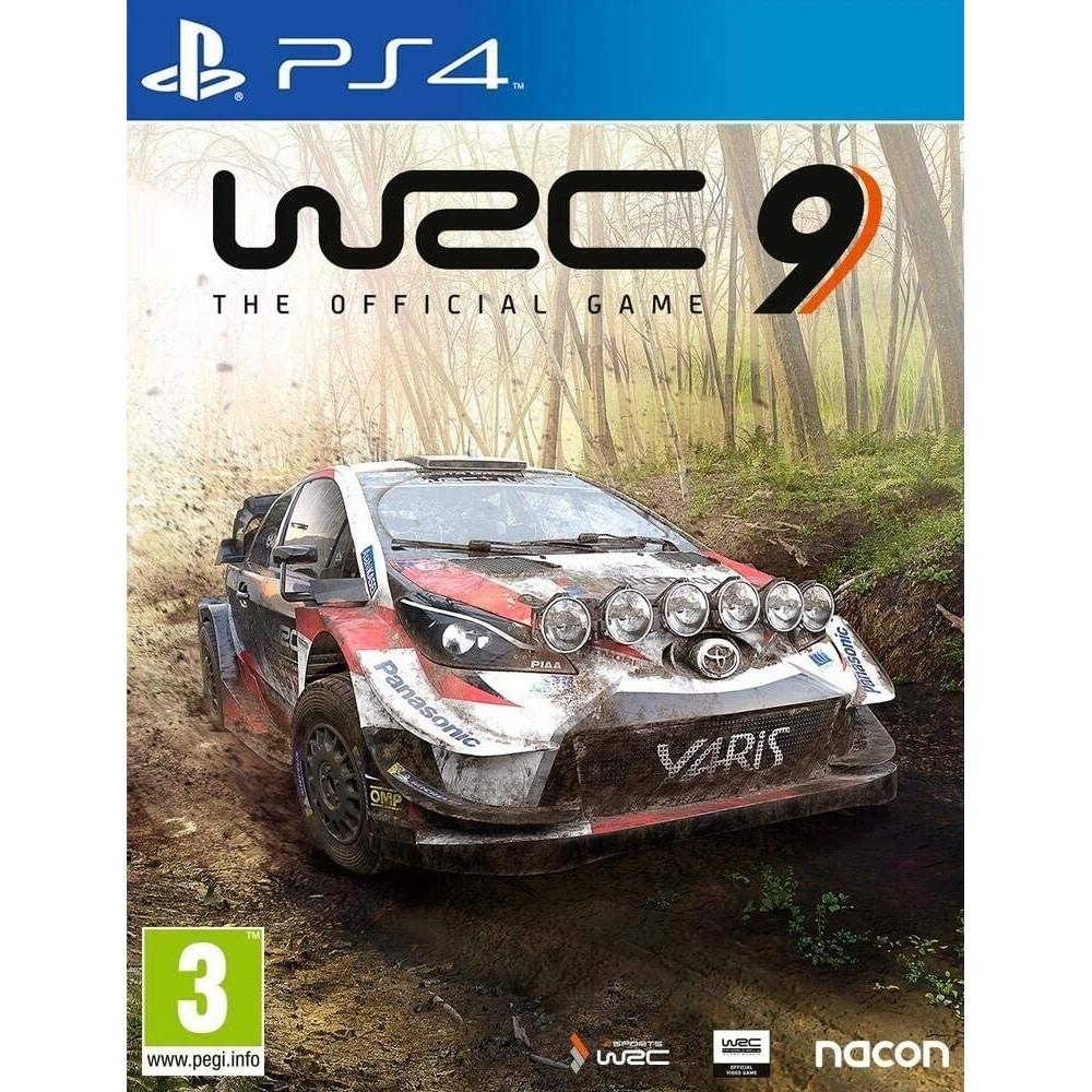 WRC 9 PS4 UK NEW