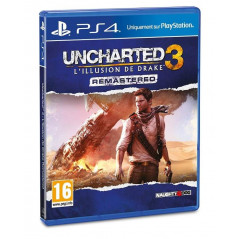 UNCHARTED 3 L ILLUSION DE DRAKE REMASTERED PS4 FRANCAIS NEW