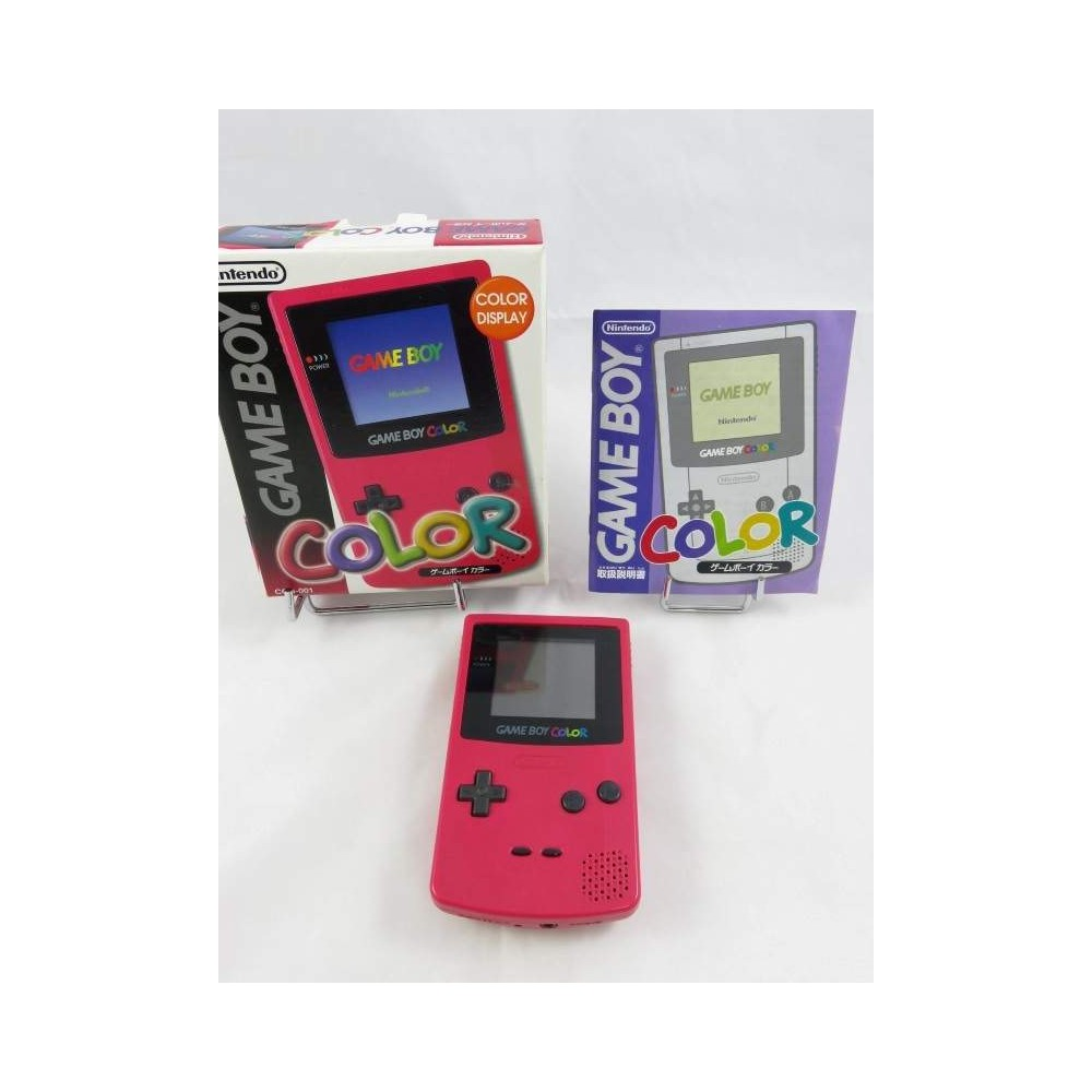 CONSOLE GAMEBOY COLOR RED COMPLETE JPN OCCASION