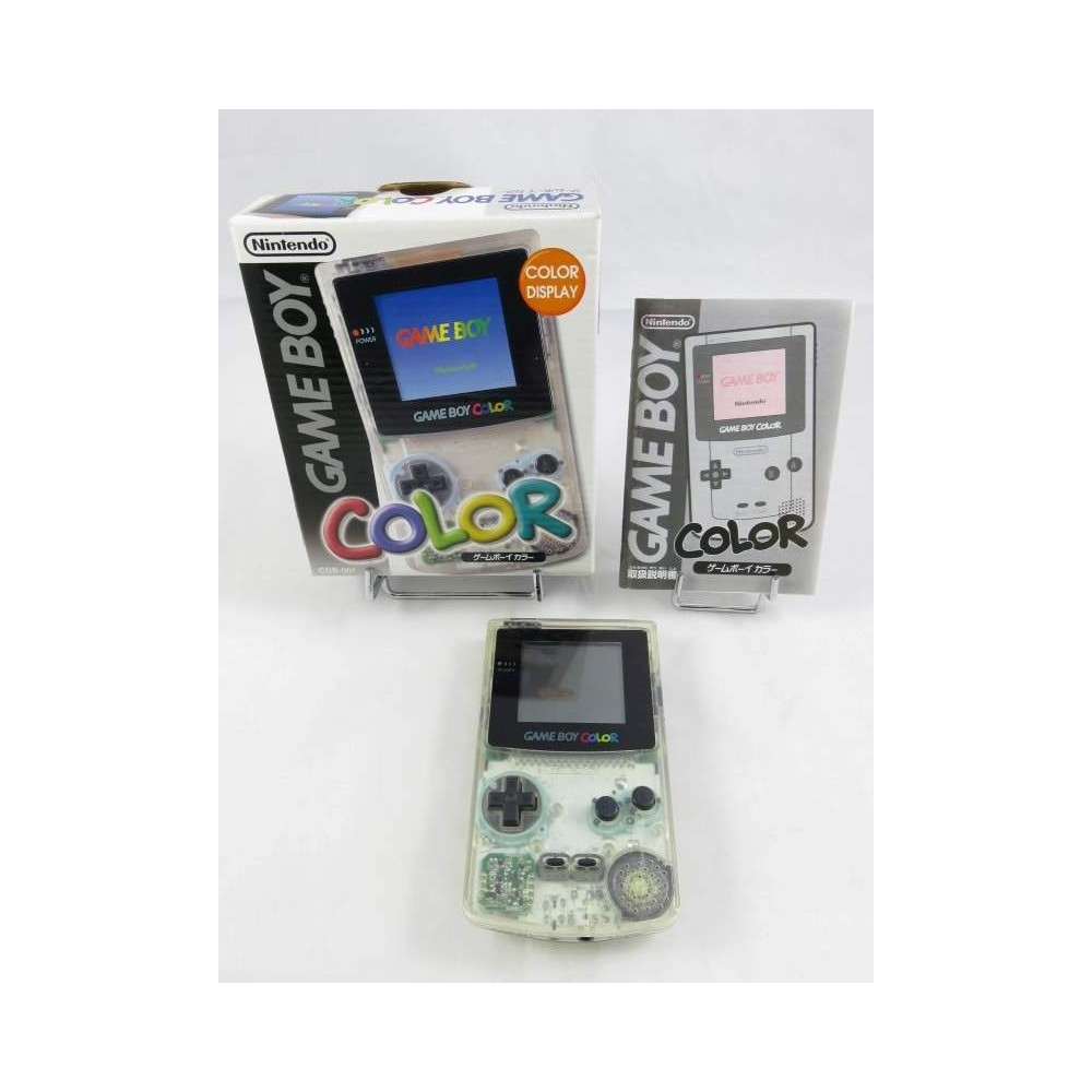 CONSOLE GAMEBOY COLOR CLEAR COMPLETE JPN OCCASION