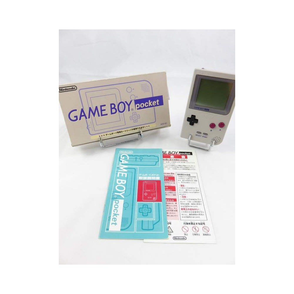 CONSOLE GAMEBOY POCKET GREY CLASSIC JPN OCCASION