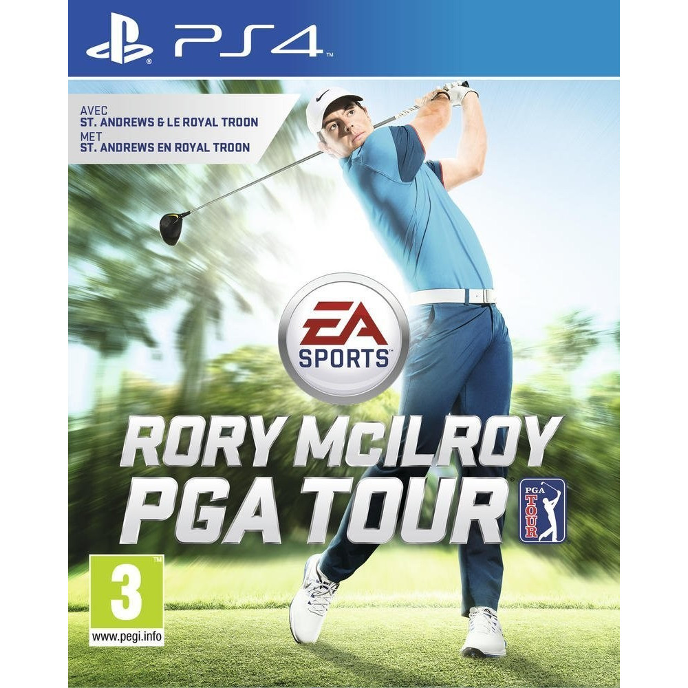 RORY MCILROY PGA TOUR PS4 VF OCC