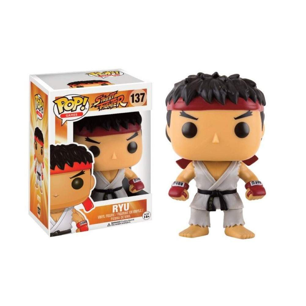 BOBBLE HEAD POP 136 RYU STREET FIGHTER NEW