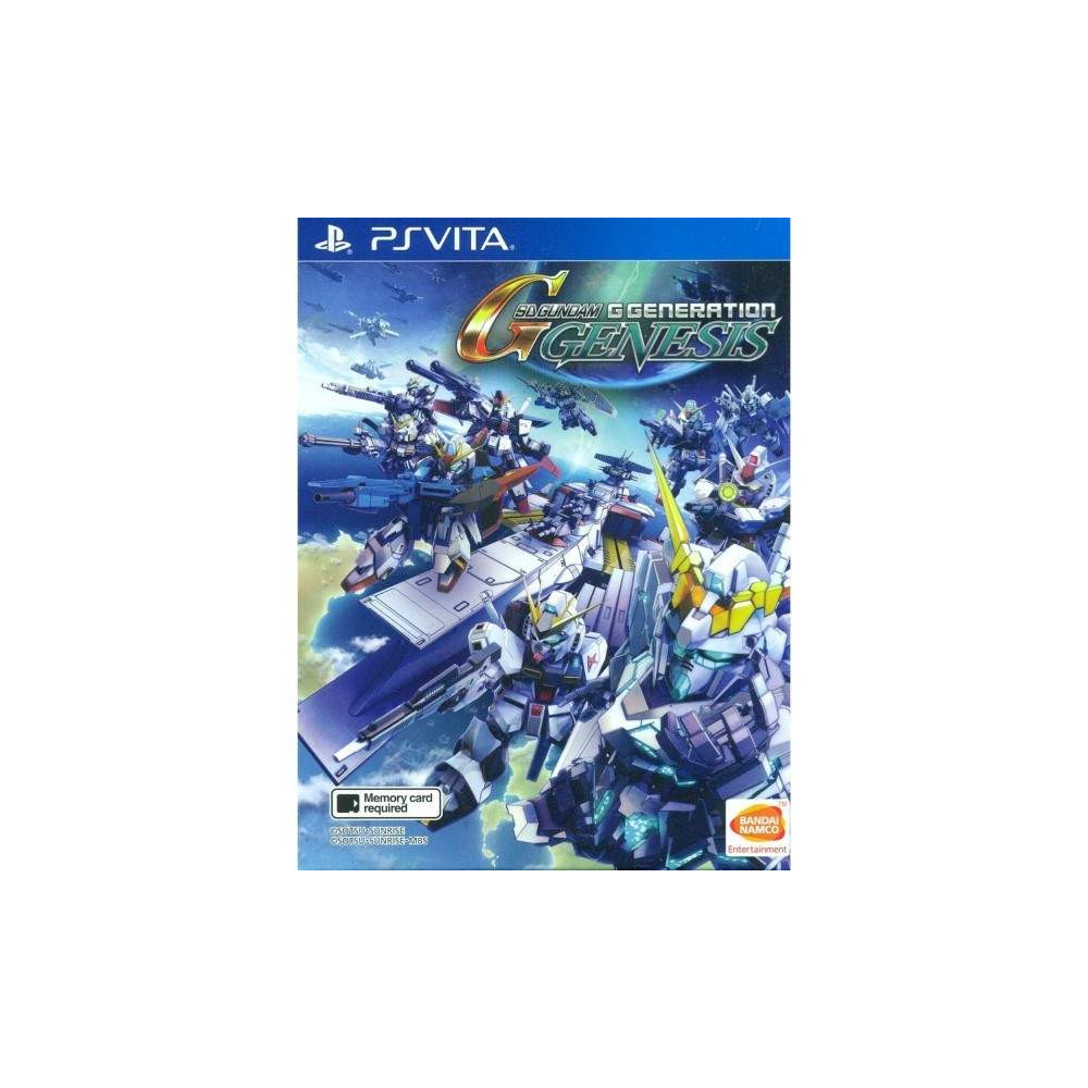 SD GUNDAM G GENERATION GENESIS (JEU EN ANGLAIS) PSVITA ASIAN NEW