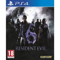 RESIDENT EVIL 6 PS4 PAL-FR NEUF (PRECOMMANDE)