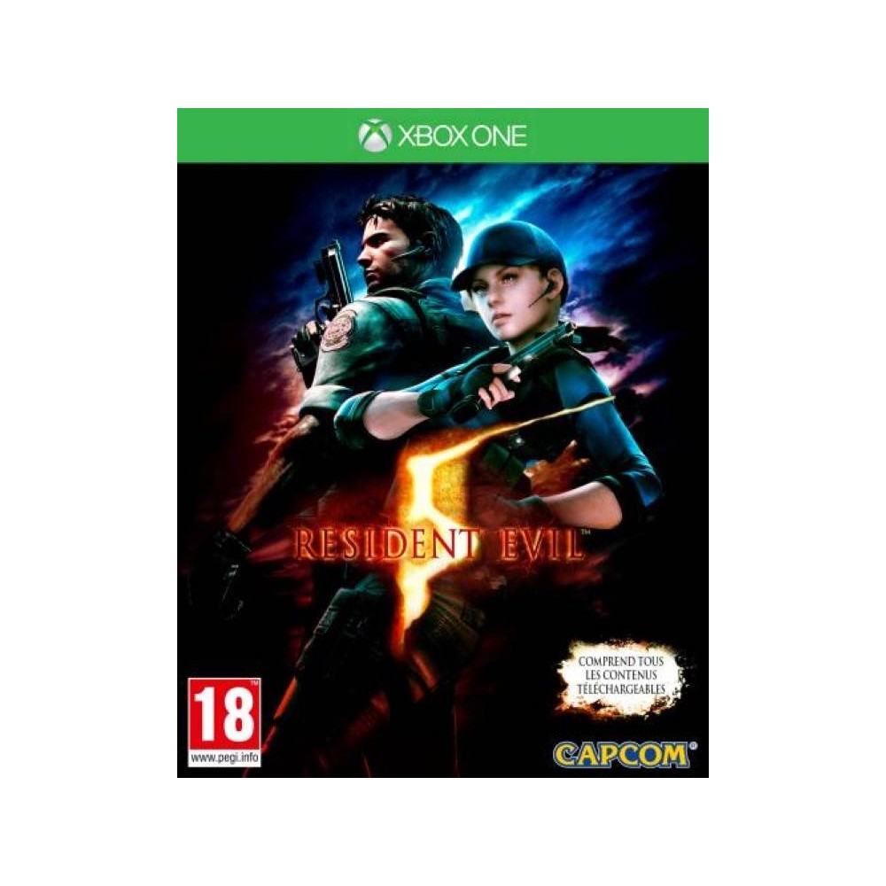 RESIDENT EVIL 5 PS4 PAL-FR NEUF (PRECOMMANDE)