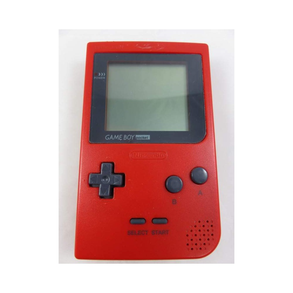 CONSOLE GAMEBOY POCKET RED JAPONAISE OCCASION
