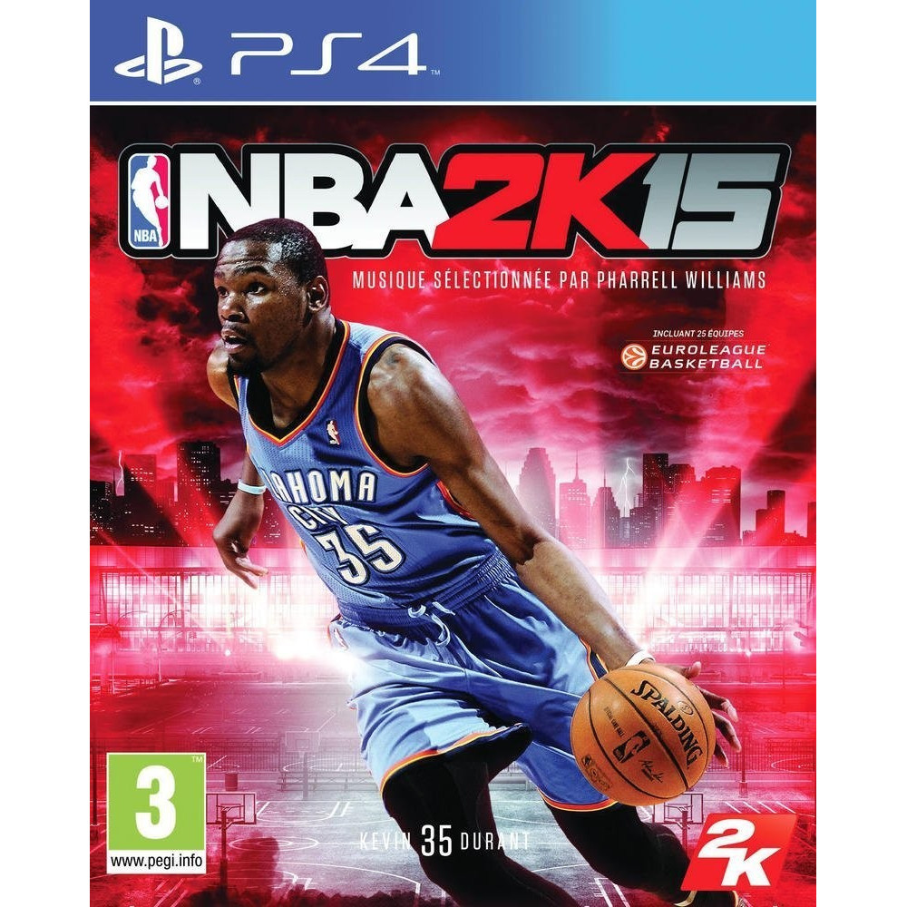 NBA 2K15 PS4 FR OCCASION