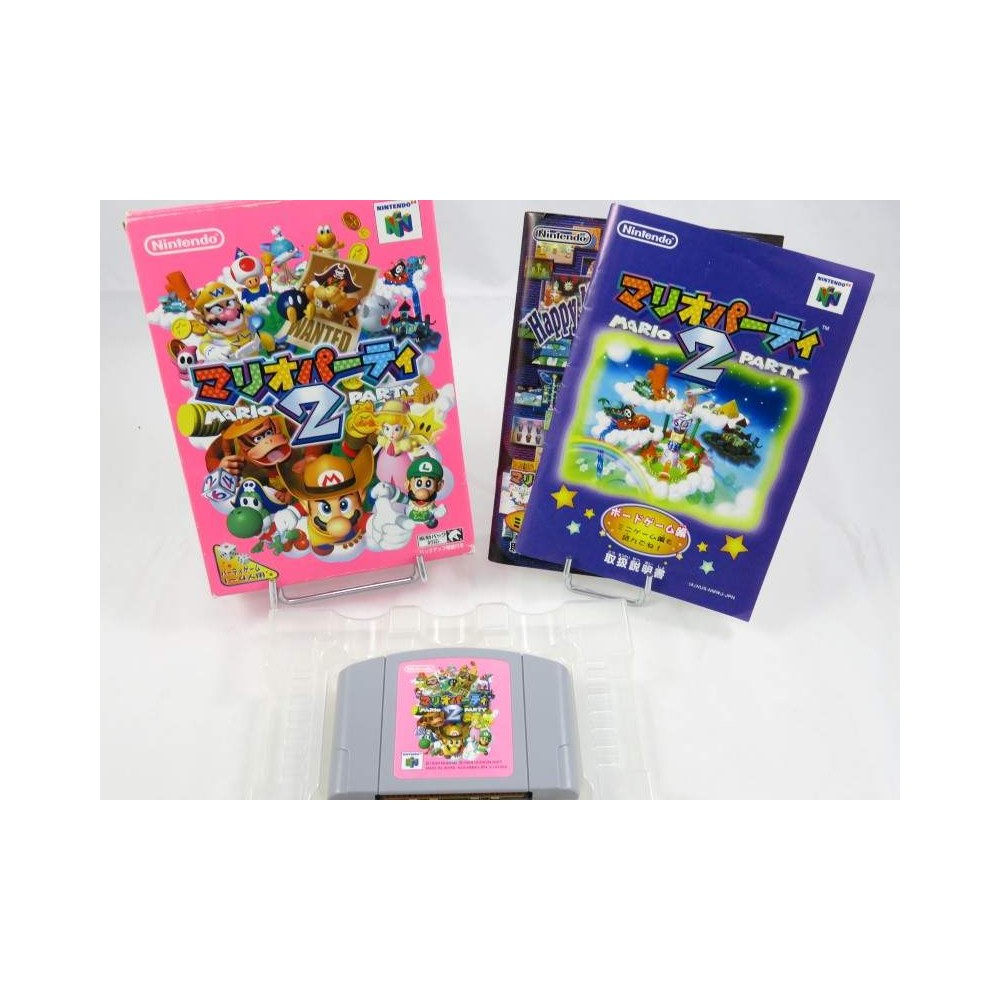 MARIO PARTY 2 N64 NTSC-JPN OCCASION