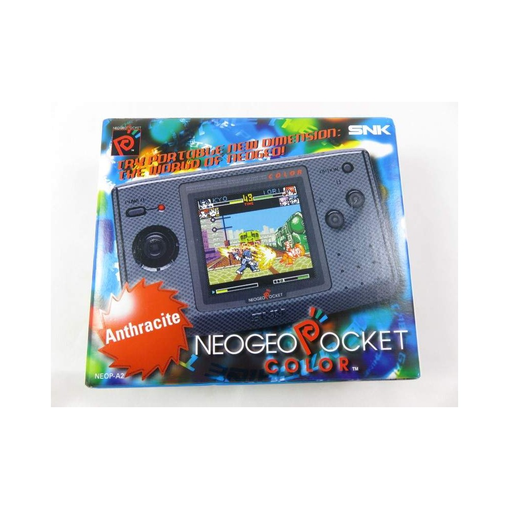 CONSOLE NEOGEO POCKET COLOR ANTHRACITE JPN NEW