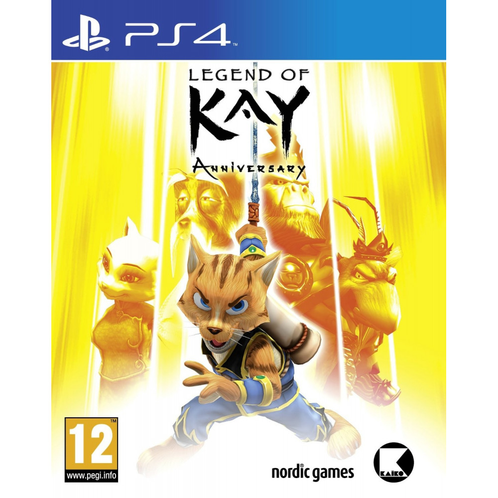 LEGEND OF KAY PS4 FR OCCASION