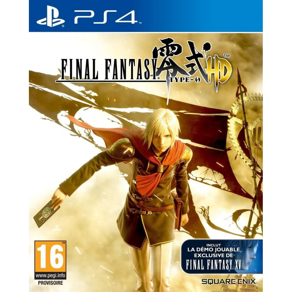 FINAL FANTASY TYPE 0 HD PS4 VF OCC