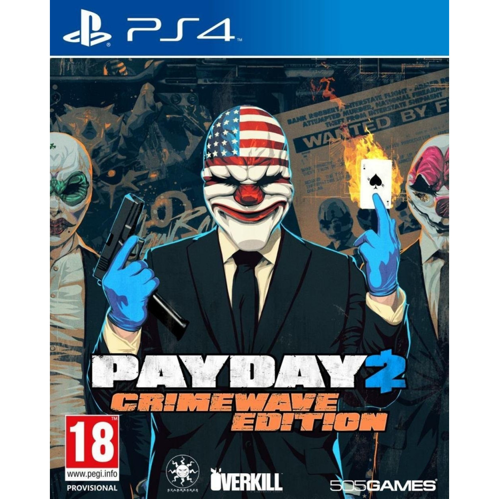 PAYDAY 2 EDITION CRIMEWAVE PS4 FR OCCASION