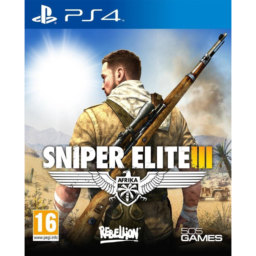 SNIPER ELITE 3 PS4 EURO OCCASION